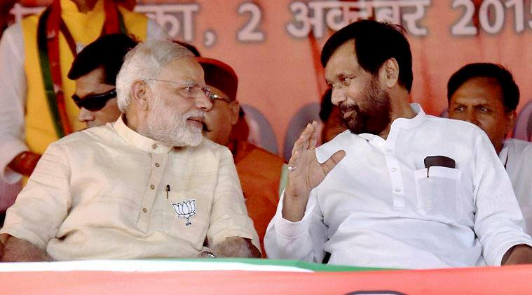 Paswan made BJP kneels down to his terms