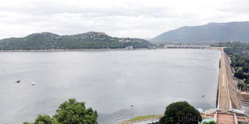 Mettur dam full flood alert on cauvery for 7 districts