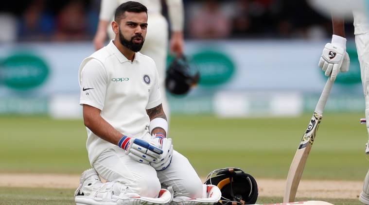 Kohli men suffered 159 runs &  innings  defeat at Lords