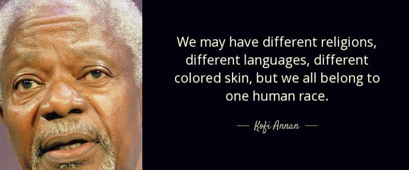 Ghanaian national Prize laureate Kofi Annan died at  80