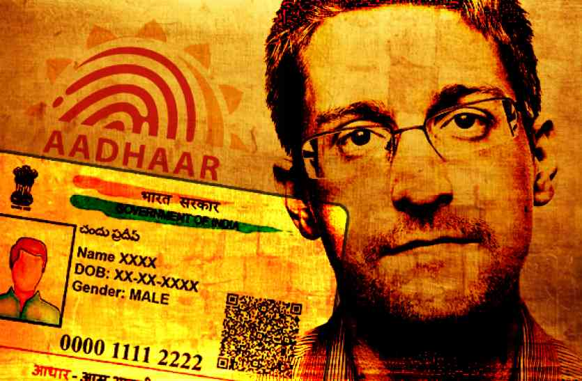 Snowden calls for penalties on companies that misuse Aadhaar