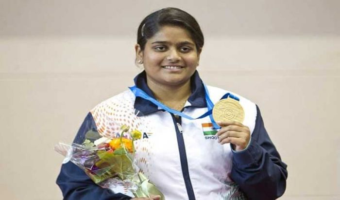 Rahi Shooted Gold for India