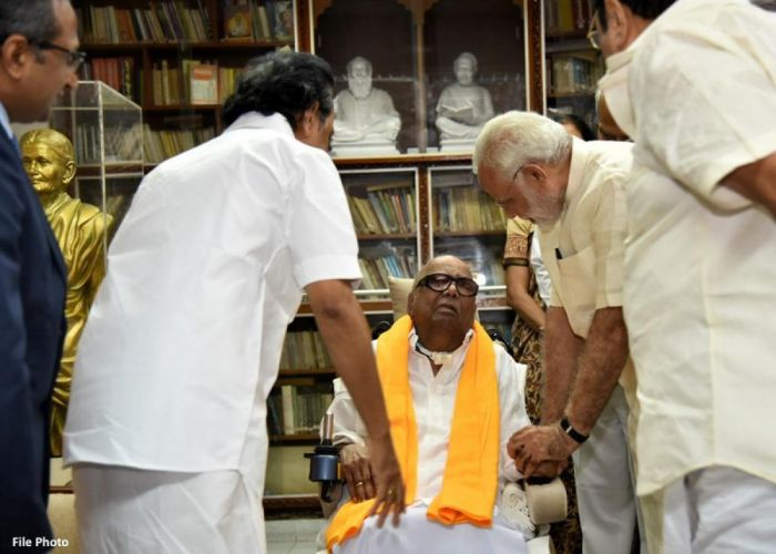 DMK invitation to Amit Shah  created ripples on both DMK and BJP