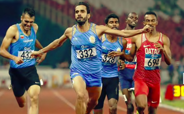 Manjit wins Surprise Gold in 800 m