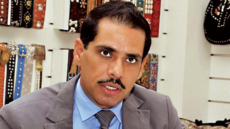 Vadra FIR helps BJP politically  feels party men