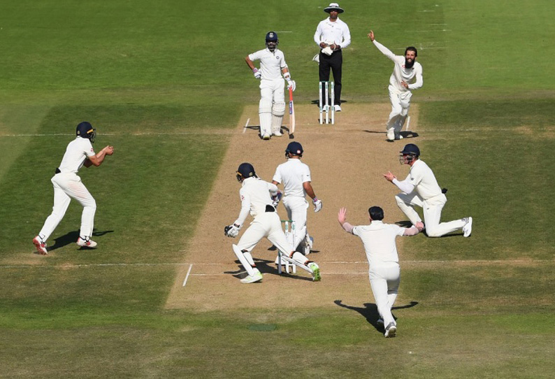60 run defeat  in 4th test made India loss series 3-1