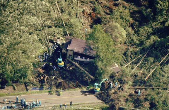 6.7 magnitude  Earth Quake Stuck  Hokkaido  Japan