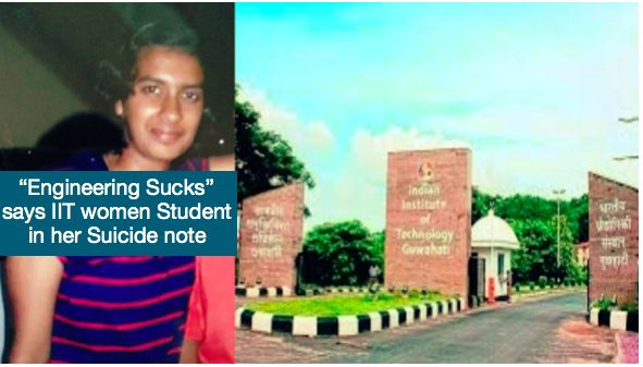 """Engineering Sucks"" says IIT women student in her suicide note"