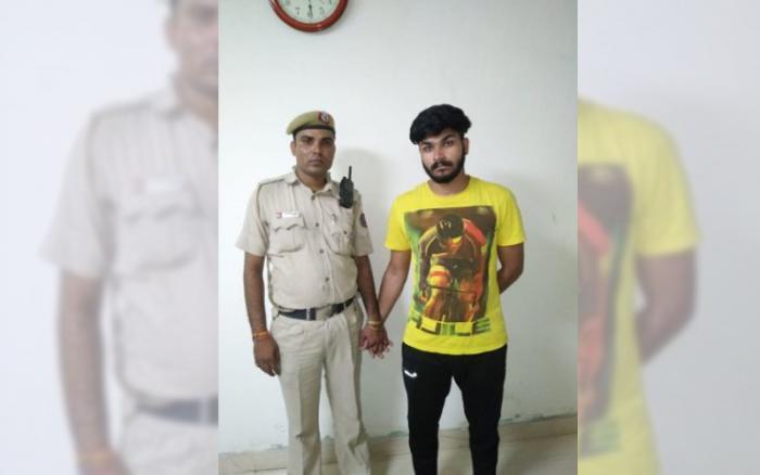 Cop son brutal harassment on women video got him arrested