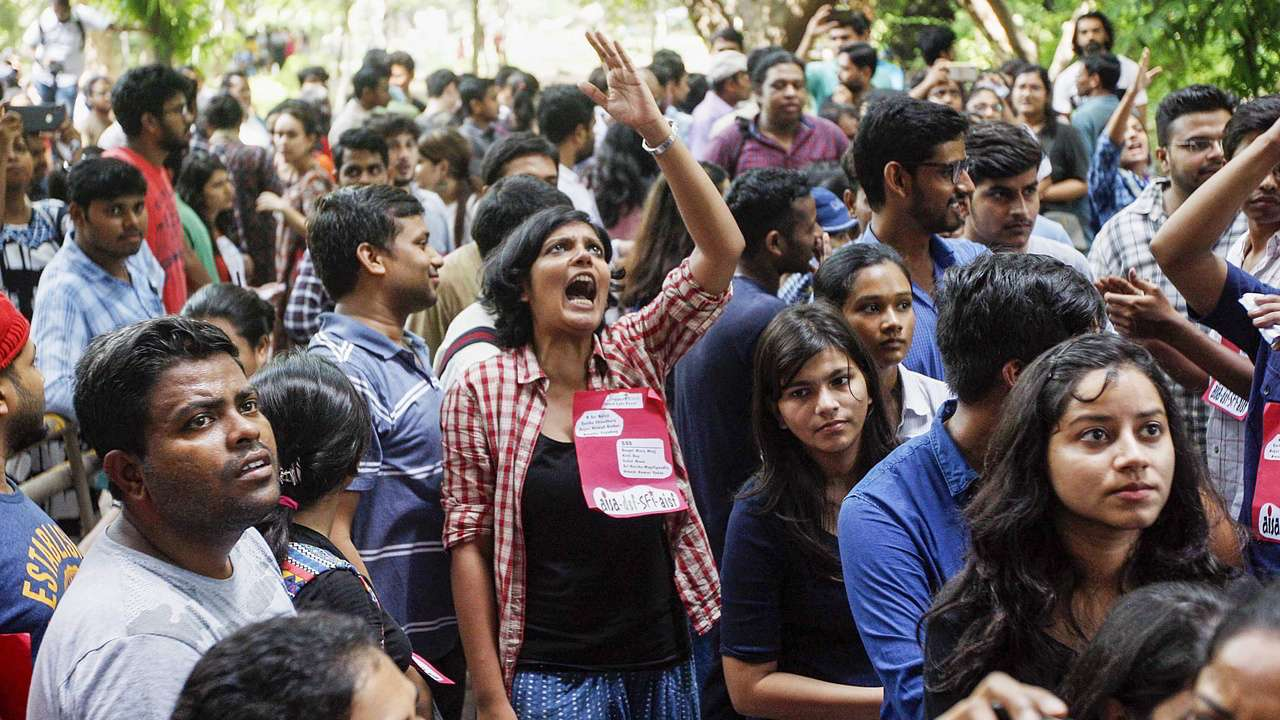 Left unity Students defeats RSS's ABVP  in JNUSU elections