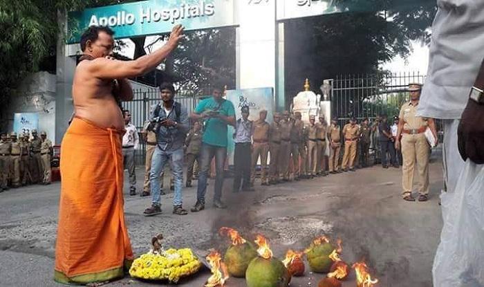 CCTV footage of Jayalalithaa's hospital stay days not available : Apollo