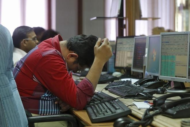Financials crack down Sensex down 400 pts  Nifty dives below 11000
