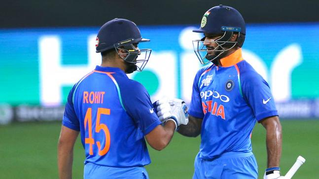 Shikhar Rohit Combo  led India easy win