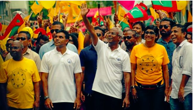 Maldives elect India friendly Ibrahim Mohamed Solih