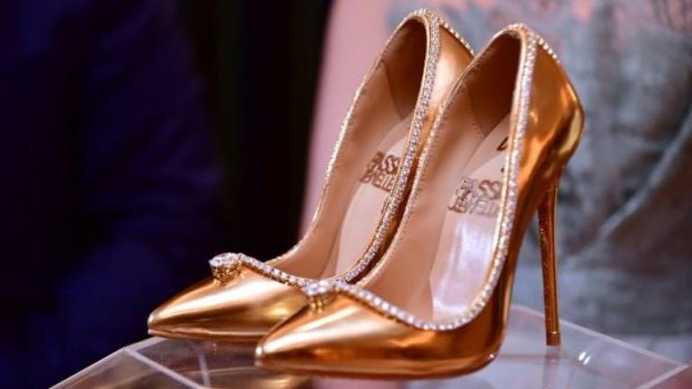 World Costliest Shoe is just 17mUS$