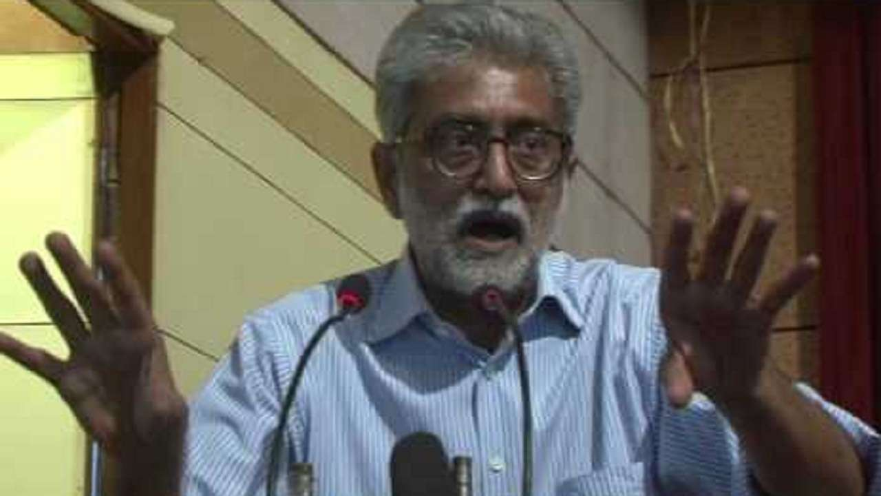 A month house arrest thrills me no end says Navlakha