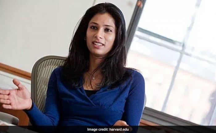 Indian Origin USA Citizen Gita appointed Chief Economist in IMF
