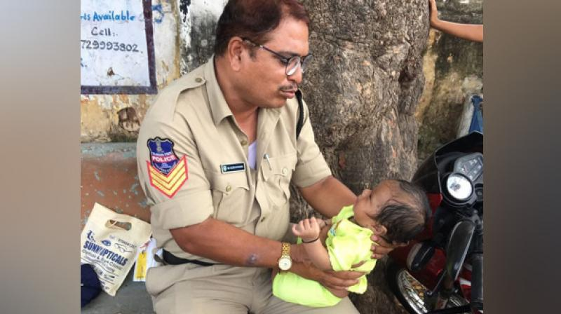 Police Rahman wins hearts of millions in Social media