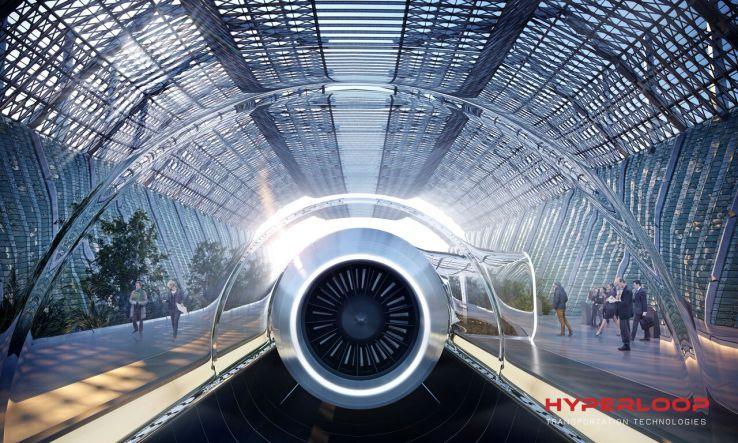 Hyperloop capsule unveiled at Spain