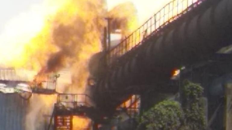 Nine  dead and 14 Critical in Bhilai Plant Blast