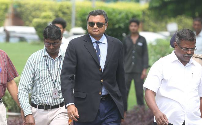 ED attaches Karti's properties in Delhi, UK and Spain