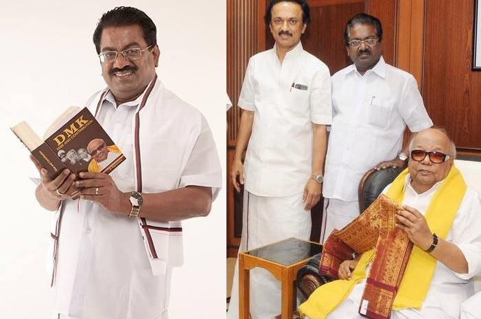 DMK sacks Elangovan  with out assigning  any  reason