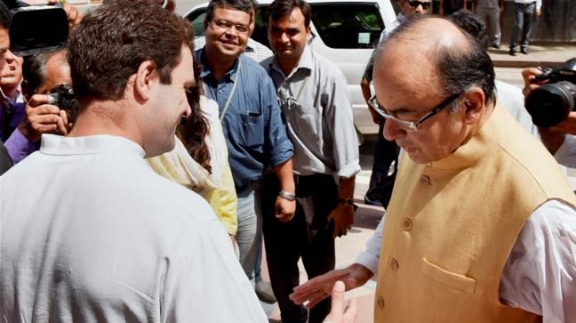Rahul Gandhi dropped another bombshell  this time Jaitley