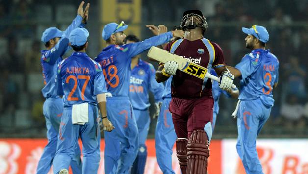 India beaten  WestIndies by 224 margin runs in the fourth ODI