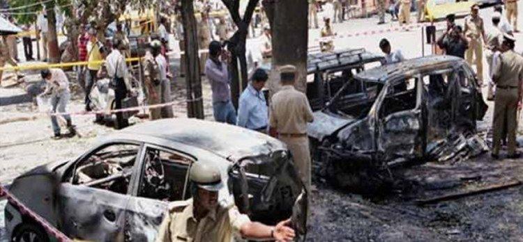 Purohit, Sadhvi and  5 more charged under terrorist act