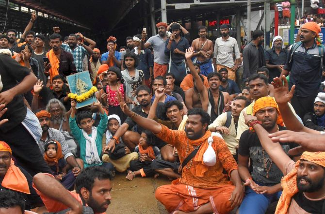 Sabarimala agitation part of party's agenda: Kerala BJP chief's open admission