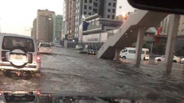 Kuwait Floods : Flash floods after heavy rains in Kuwait killed one injured many