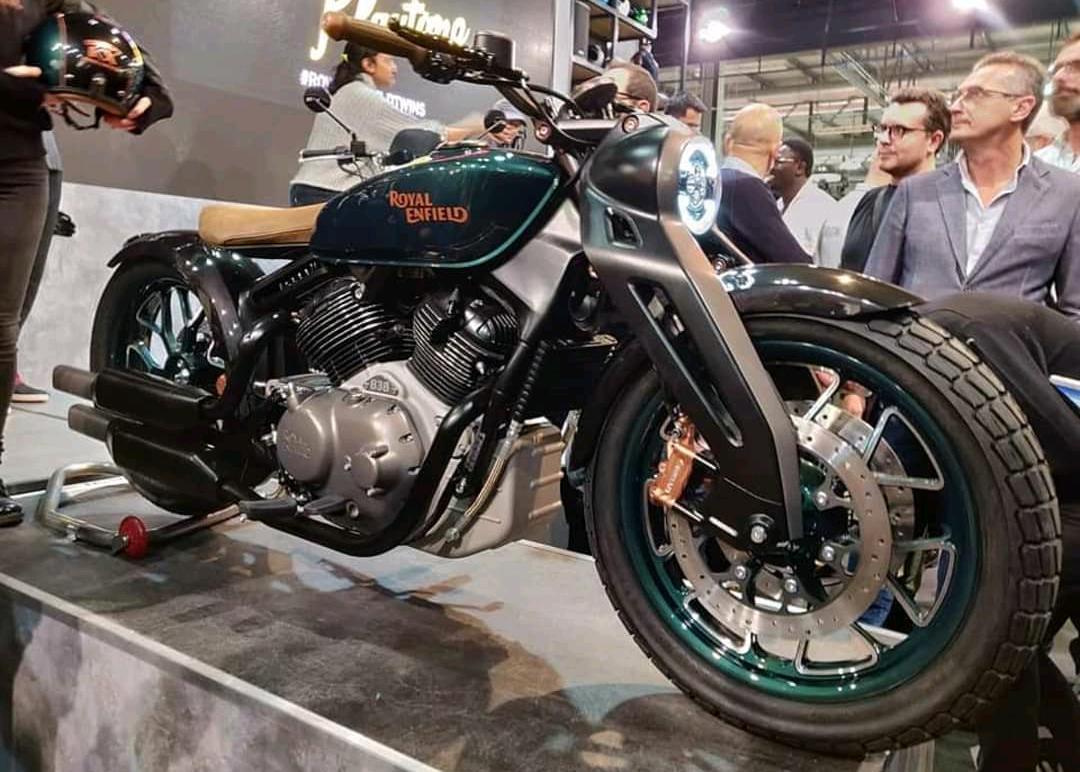 Royal Enfield's 650cc goes International