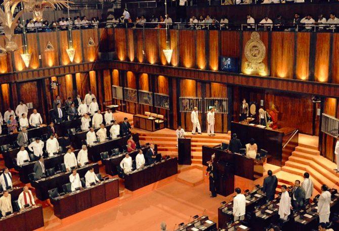 Sri Lanka's parliament passed  no-confidence motion against Rajapaksa