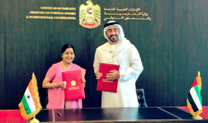 India, UAE sign currency swap deal for Rs 3500 Crores