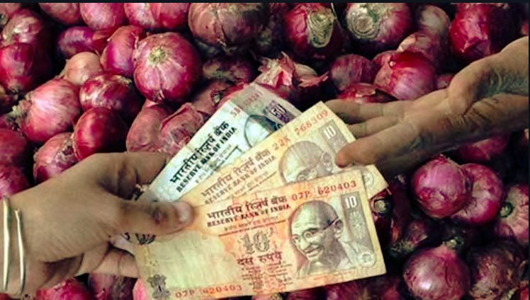 Onion Rs 1064 for 750 Kg Farmers apathy towards bjp government increases