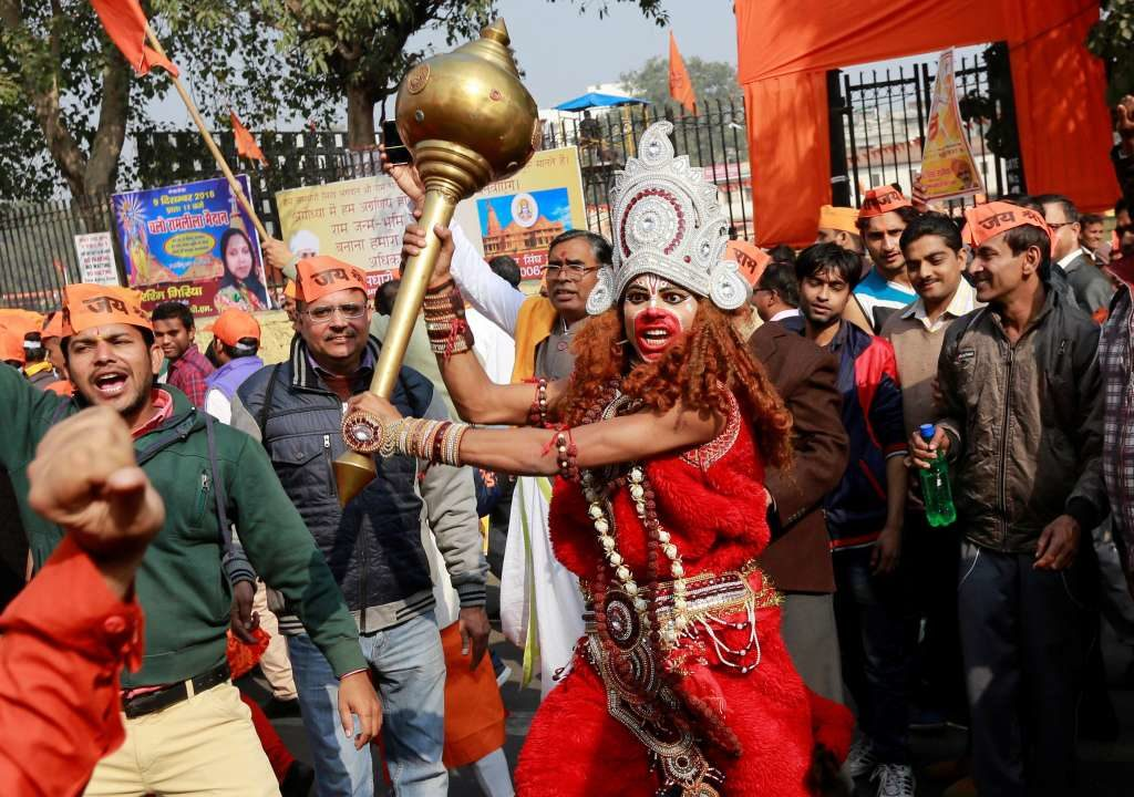 RSS VHP put direct pressure to BJP to enact Law for Ram temple Construction