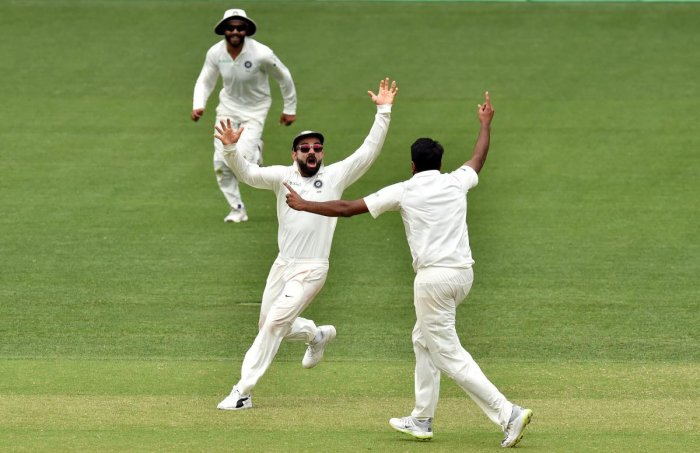 First  Test: India knocked  defiant Australia by 31 runs