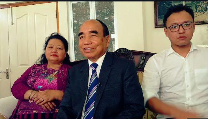 Zoramthanga , Mizo National front bombarded Congress in Mizoram