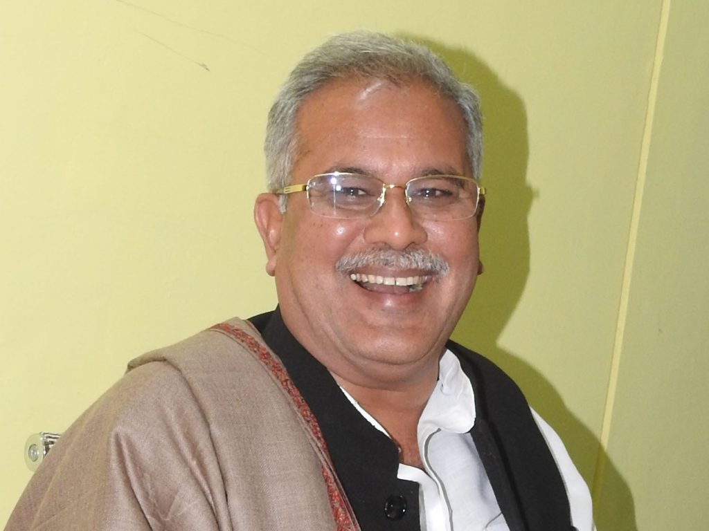 Bhupesh Baghel elected new Congress Chief Minister in Chattisgarh