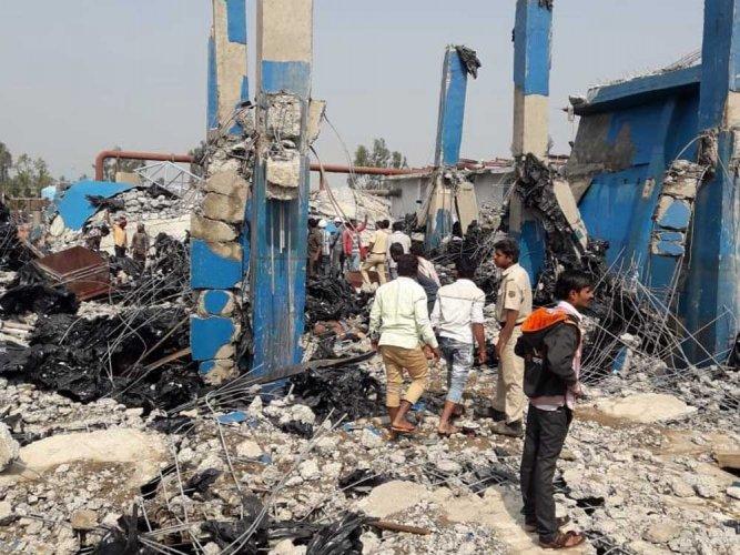 Sugar distillery Boiler blast in Bagalkot  Karnataka  so far 6  killed