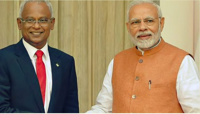 India  announces 10080 Crores Rupees  aid to Maldives
