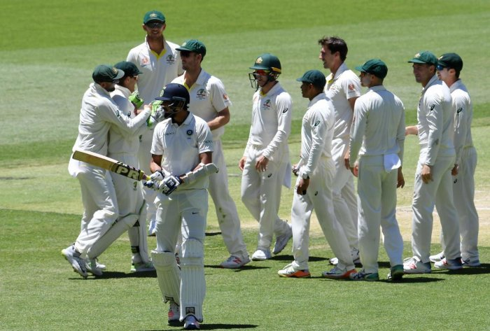 Second match India lost by 146 runs to Aussies