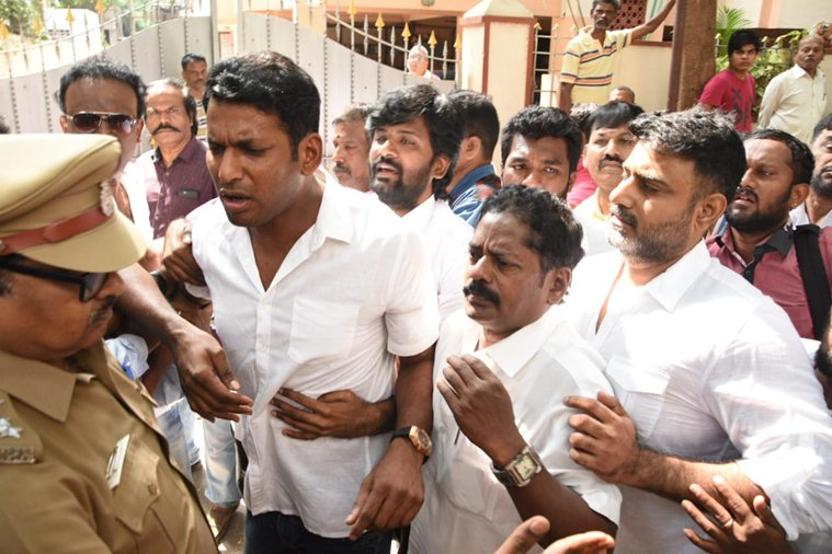 Faction War  at Producers council  ended up its  offices sealed by TN government