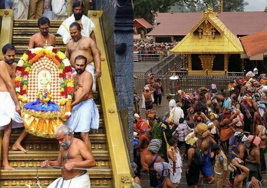 "Kerala Govt ""51 young women list dharshan  ""  to Supreme Court  made  Hindutva elements  fuming"