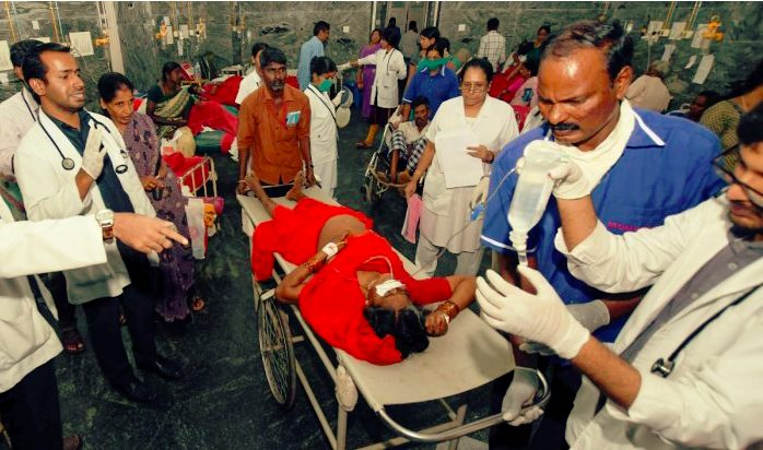 Poisoning the  temple Prasadam killed 12 so far and  30 found Critical