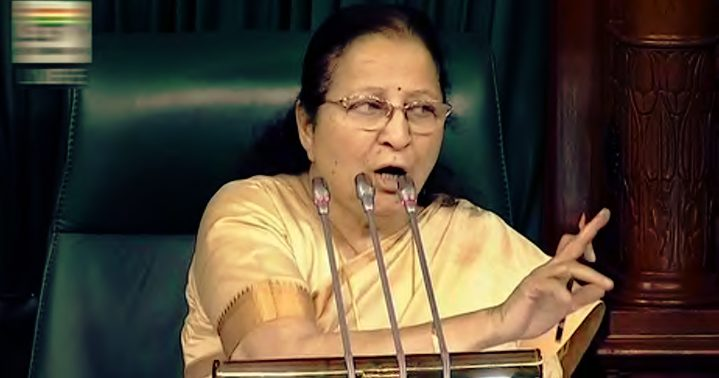 LS Speaker Sumitra in Suspension Spree : Yesterday 24 , today 19 MPs
