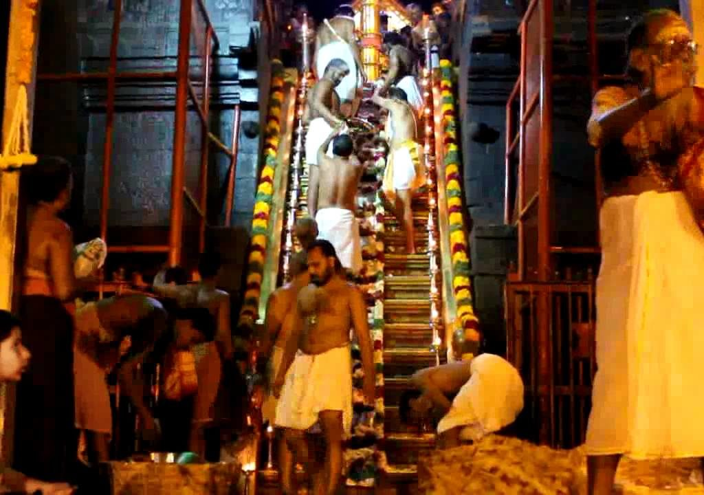 Srilanakan Tamil women created history by climbing 18 holy steps in Sabarimala