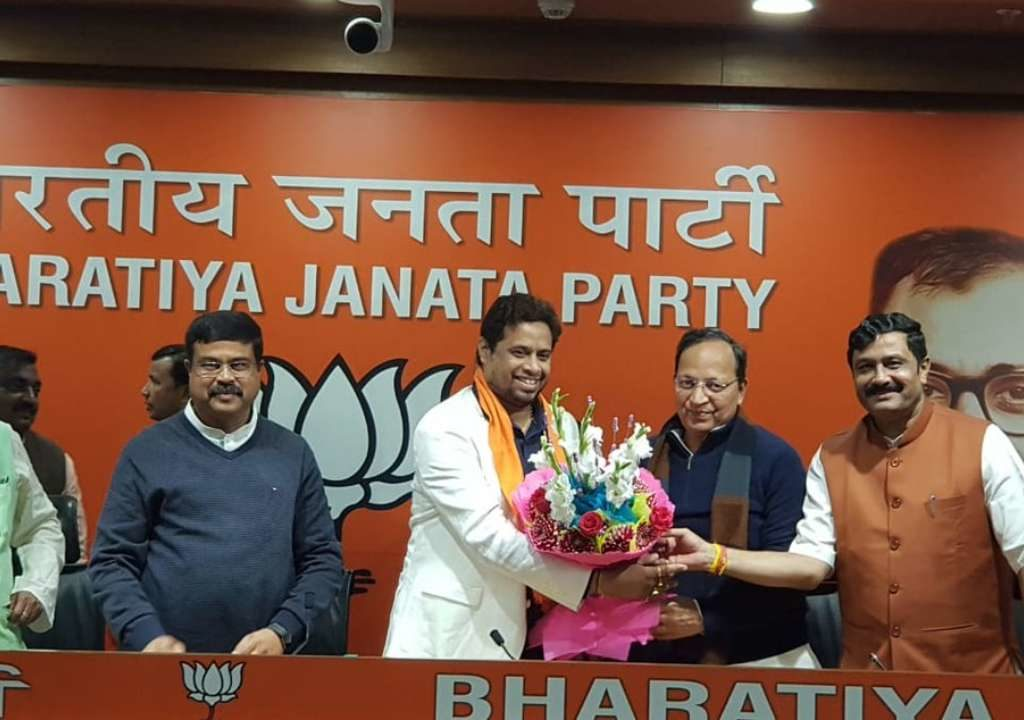 TMC Expels 2 MPs and in that one MP Joins immediately  in  BJP