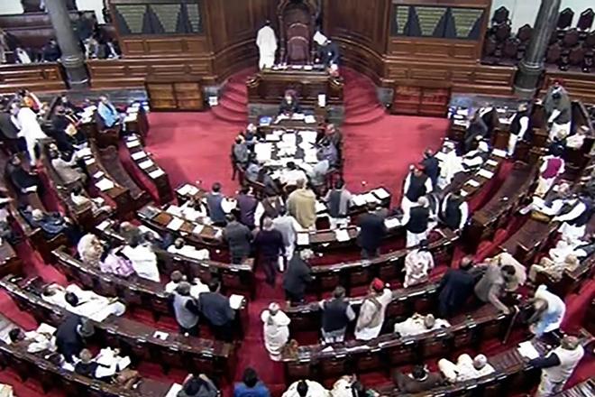 Congress uproar made Home Minister's Statement on the citizenship bill.