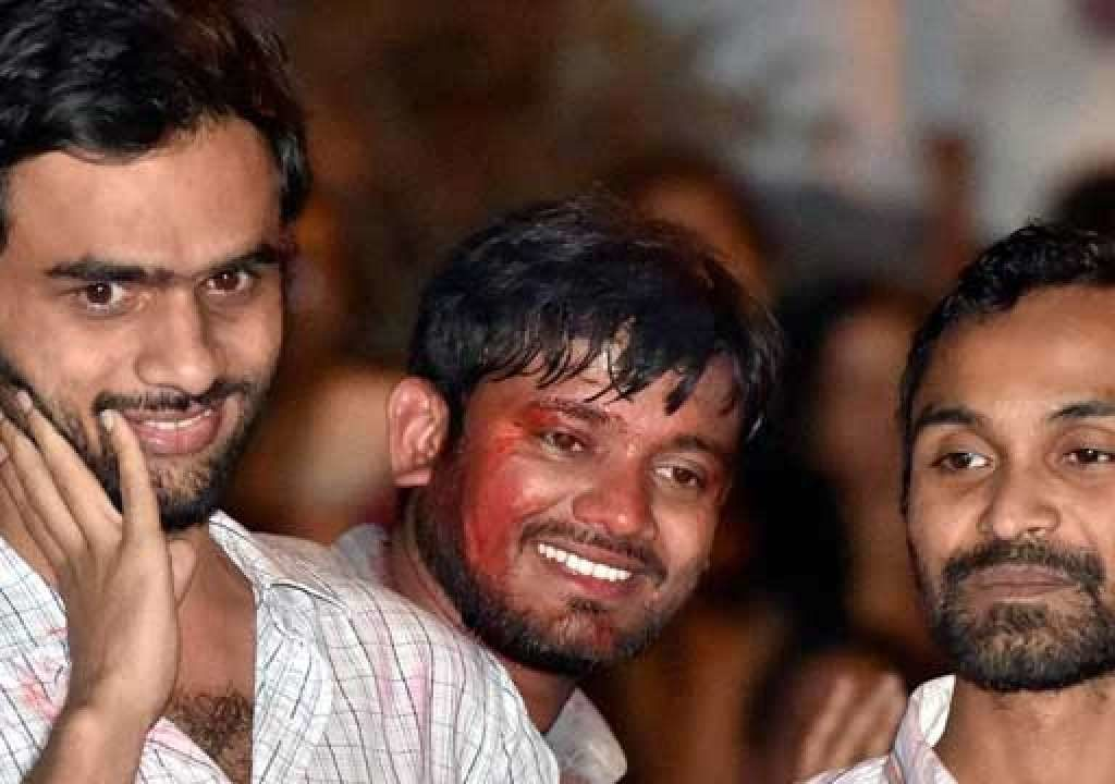 JNU sedition case: Delhi Police files chargesheet against Kanhaiya Kumar, Umar Khalid